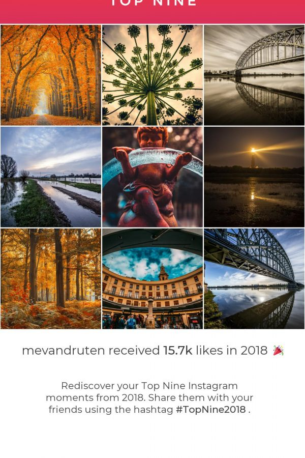 Top nine 2018!!! Instagram best of 2018!
